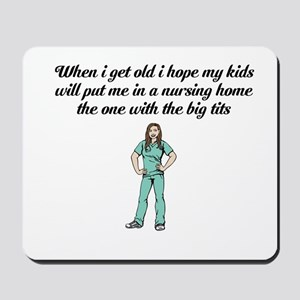 Nursing Mousepad